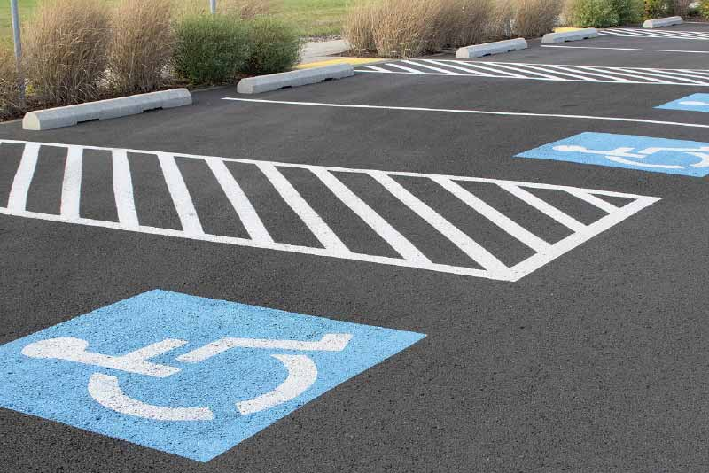 parking lot striping service in greater Twin Cities Minneapolis St. Paul
